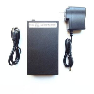 YSD-12980 black 9800mAh rechargeable portable polymer 12V li-ion lithium battery