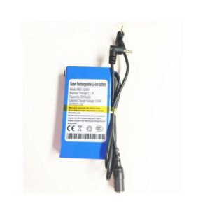 12V 3000mah li-ion battery with 2.5*0.7mm connector