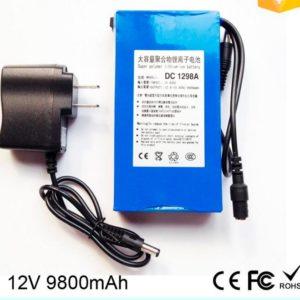Portable super 9800mah DC12V li-polymer ups battery