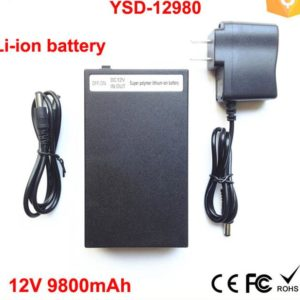 YSD-12980 9800mAh 12 Volt polymer lithium li-ion battery