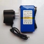 Portable 12V 4800mah Super li-ion battery for CCTV Camera/