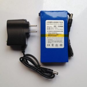 Portable 12V 4800mah Super li-ion battery for CCTV Camera/
