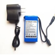 12V Portable Rechargeable 3000mah li-ion battery