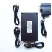 Portable rechargeable lithium polymer battery 5v 20ah//9V 12A/12V 9.8Ah 3 in 1 for Phone and CCTV Camera