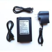 lithium battery pack with charger 12V 4800mah/5V 10000mah Rechargeable