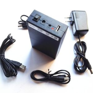12V 6500mah/9V 8500mah/5V 12000mah Li-po Rechargeable battery