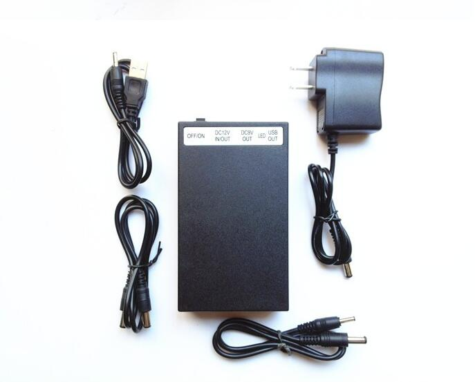 12V 6500mah/9V 8500mah/5V 12000mah Li-po Rechargeable battery