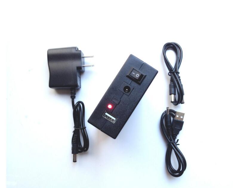 usb polymer Battery 12V 6.5ah/5V 12ah