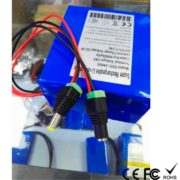 rechargeable DC 24v 6Ah li-ion battery pack