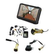 Night Vision Mini Wireless Spy Camera 90 degree Door Peephole Camera 100m Range