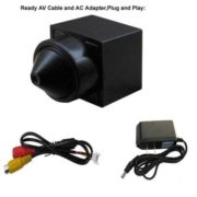 Pinhole Lens Mini Security Cameras 480TVL Smallest Hidden Camera