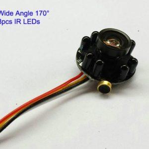 Professional IR Pinhole Smallest Security Camera with PHILIPS 3299 Sensor