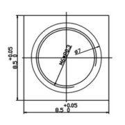 ps12324675-m6_0_3_mount_board_lens_holder_for_ccd_cmos_sensors_plastic