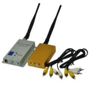 1.2GHz Wireless 16 Channel 1000mW AV Sender Video Transmitter & Receiver Kit A/V Audio Video Sender Transmitter