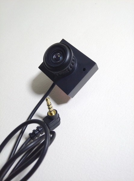 1.8mm 170 degrees wide angle FPV camera 600TVL HD Sensor fisheye sport Camera with mic for 5 inch portable DVR