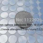 850nm band pass filter 850nm narrow band pass filter, board lens filters, filter, 10.4*1.0mm, night vision filter