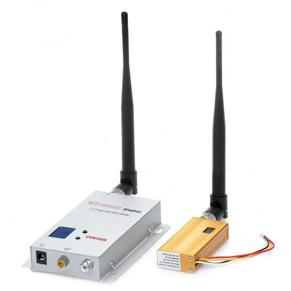 Secutiry CCTV 16CH Wireless AV transmitter and Receiver System Audio Video A/V Audio Video Sender Transmitter