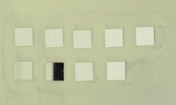 850 nm infrared narrow band filter block Visible light infrared light through 8.2 * 8.2 * 8.2 mm
