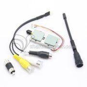 LawMate 1.2GHz 8CH 1000mW Wireless AV Transmitter VTX TM-121800 for FPV CCTV Camera