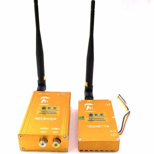 1.3G6w K Mini anti interference transmitter