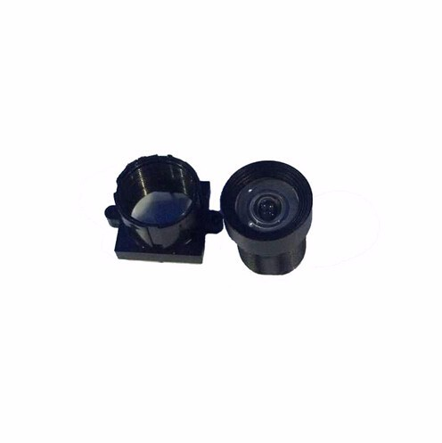 2.9mm GoPro lens M12 cctv lens wide angle lens for Surveillance camera 5megapixels low distortion IR-cut plastic lens