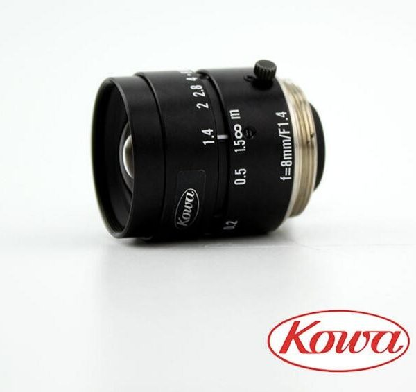 Japan Kowa FA LM8JC industrial camera Authentic brand new 8 mm C mouth lens two-thirds of 1.4 F