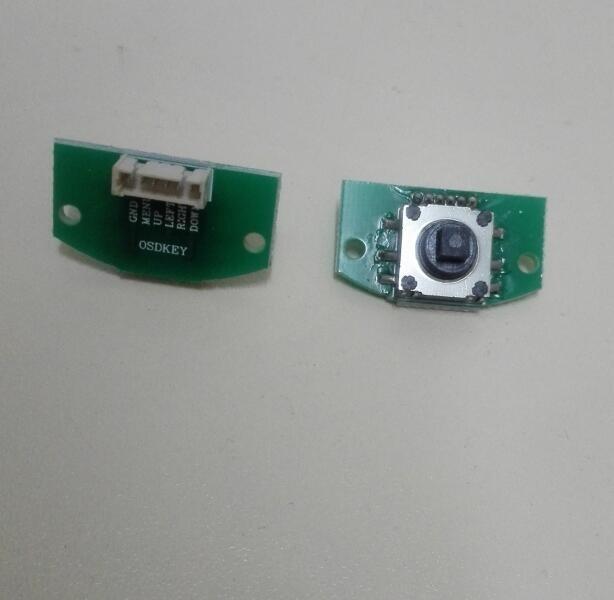 6 pin osd control board menu control module for DIY fpv camera board
