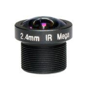 MTV 2.4mm/M12X0.5/ million pixels CCTV camera lens