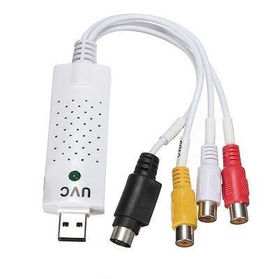 USB 2.0 Video TV Tuner DVD Audio Capture Card