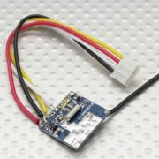 FPV Audio Video Transmitter 200mW 2.4Ghz 4 Channel Micro ONLY 2.7 GRAMS!