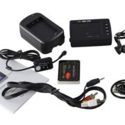 "Angel Eye DVR Camera 2.7"" LCD Portable Video Recording System Video Recorder Updage KS- 750A with Remote Control"