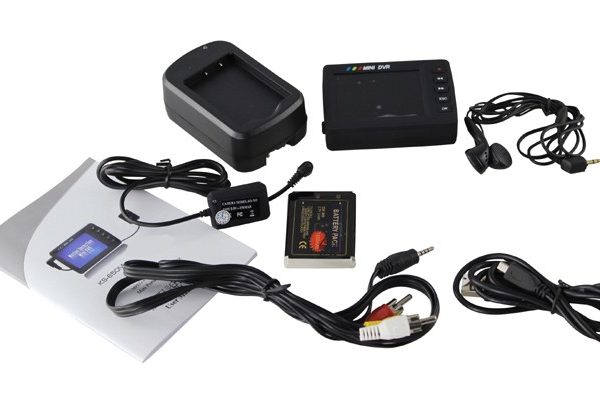 """Angel Eye DVR Camera 2.7"""" LCD Portable Video Recording System Video Recorder Updage KS- 750A with Remote Control"""