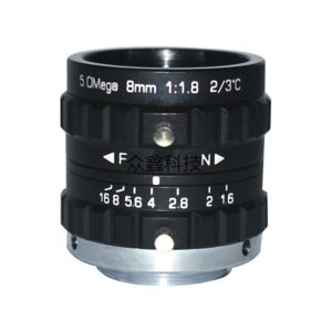 5 Megapixel 8mm Machine Vision Lens