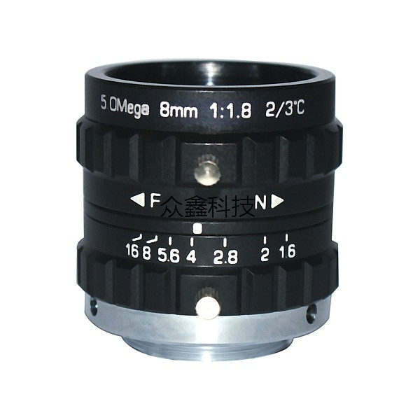 5 Megapixel 8mm Machine Vision Lens