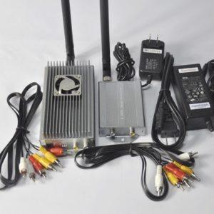 2.4G Hz Wireless Audio Video Transmitter Receiver 10W