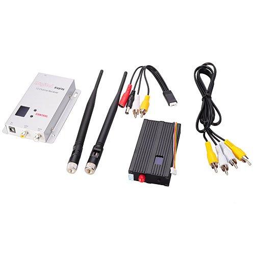 1.2G 2.5W 8 Channels Wireless Video Transmitter
