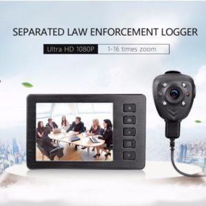 portable DVR HD button camera remote control police camera