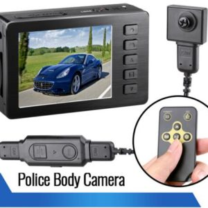 portable DVR HD button camera remote control police camera