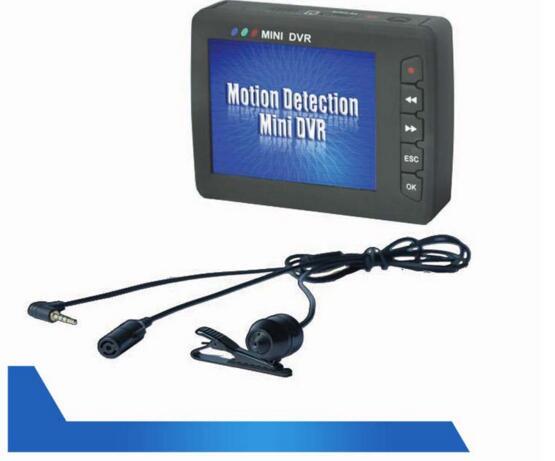 portable DVR HD button camera remote control