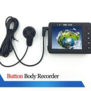 IR portable camera button camera DVR boby camera police camera