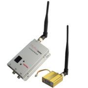 1.2GHz 700mW 7 Channel Digital Wireless AV transmitter & receiver