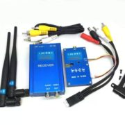 2W 1.3G Wireless Audio Video AV Transmitter Receiver