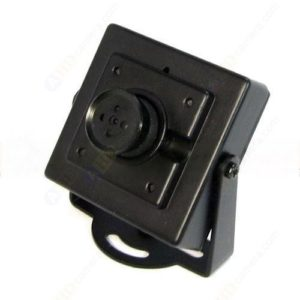 HD Mini SONY CCD Button Camera MIC 0.01Lux 3.7mm Lens