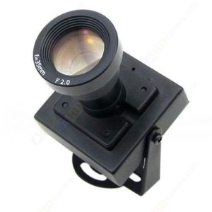 Effio-E DSP SONY CCD Color Mini Camera Multilingual OSD 2.8mm Lens