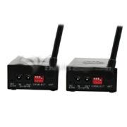 Bada 1.2W Wireless Audio /Video Sender 1200mw Transmitter Receiver 2.4G f/ Cameras
