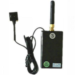 600TVL 5MP Portable Wireless Button Camera built in battery