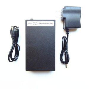 YSD-12980 black 9800mAh rechargeable portable polymer 12V li-ion lithium battery